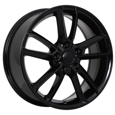 Art Replica Wheels Replica 99 Gloss Black/Noir lustré, 17X7.0, 5x114.3 ,(déport/offset50 )67.1