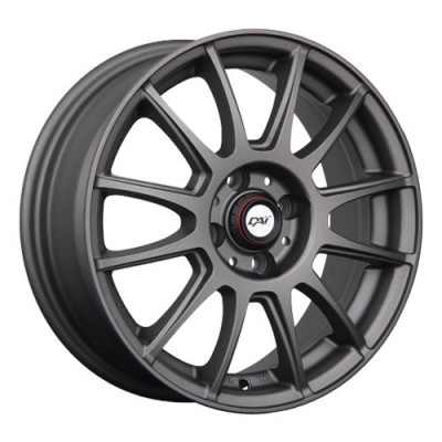 Roue Dai Alloys Rado, anthracite mat (15X6, 4x98, 58.1, déport 35)