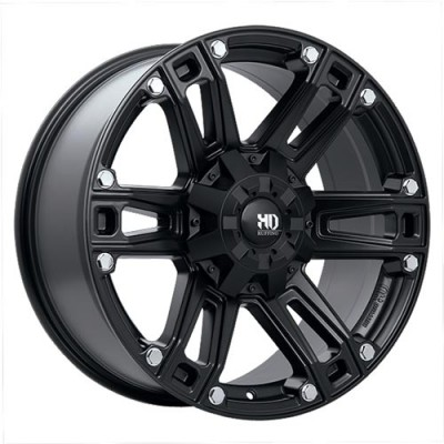 roue Ruffino Wheels Renegade II, noir satine (17X9, 8x165.1, 125.2, déport 12)