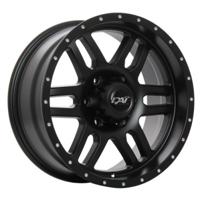 Dai Alloys Storm Satin Black/Noir satin, 17X8.0, 5x127 ,(déport/offset10 )71.5