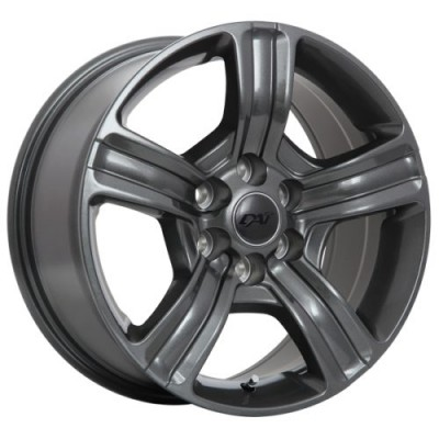 Roue Dai Alloys Force, gris gunmetal (17X8.0, 6x132, 74.5, déport 40)