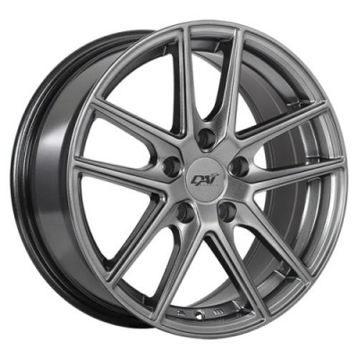 roue Dai Alloys Level, gris gunmetal (16X7.0, 5x110, 73.1, déport 35)