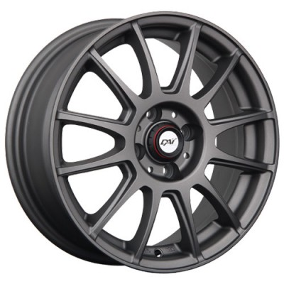 Roue Dai Alloys Rado, anthracite mat (16X6.5, 4x98, 58.1, déport 35)