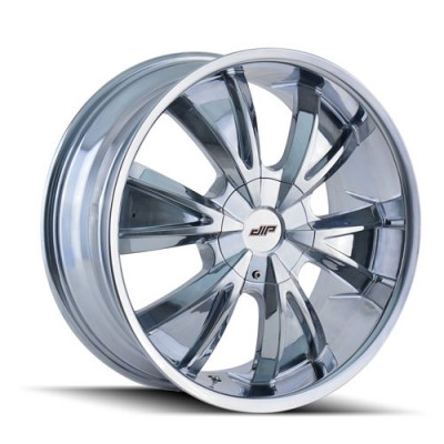 Roue Dip VIBE, chrome (24X9.5, 5x114.3/120, 74.1, déport 18)