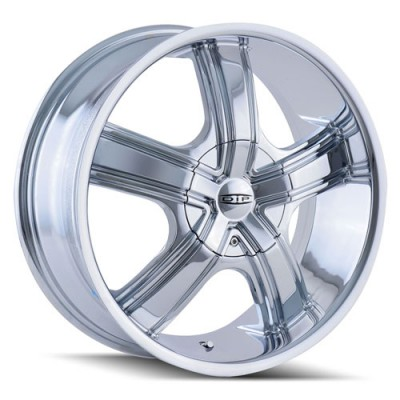 Roue Dip BOOST, chrome (18X7.5, 5x112/120, 72.62, déport 40)