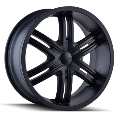 roue Dip D98 Hack, noir machine (20X8.5, 5x115/139.7, 87, déport 18)