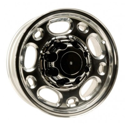 PMC OEM Replica Machined Silver / Argent Machine, 16X6.5, 8x165.1 ,(déport/offset 20 ) 117 Chevrolet / GMC