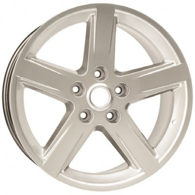 PMC OEM Replica Silver / Argent, 20X9, 5x139.7 ,(déport/offset 41 ) 78.1 Chrysler / Dodge / Ram