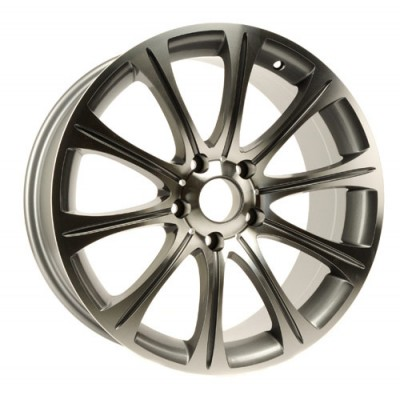 PMC OEM Replica Machined Silver / Argent Machine, 17X8, 5x120 ,(déport/offset 45 ) 74.1 BMW