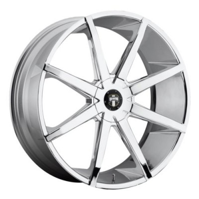 Roue DUB Push S111, chrome (26X9.5, 5x120.7/127, 78.1, déport 10)
