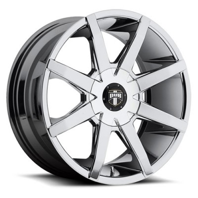 Roue DUB Push S111 pvd, chrome (19X8.5, 5x108/114.3, 72.6, déport 45)