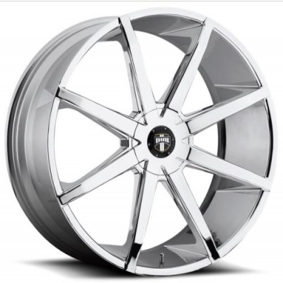 roue DUB PUSH S201, chrome (19X8.5, 5x112/120, 72.6, déport 35)