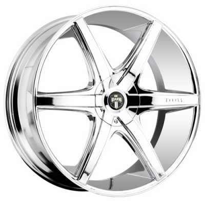 Roue DUB Rio 6 S112, chrome (18X8.5, 5x114.3/120.7, 72.6, déport 10)