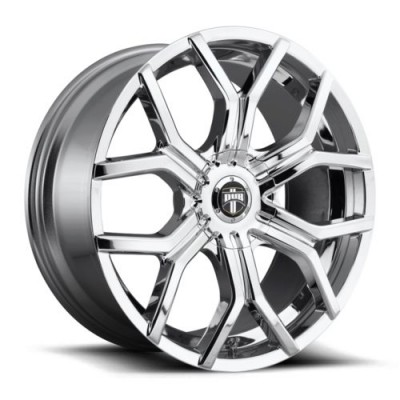 roue DUB S207, chrome (22X9.5, 6x120, 72.6, déport 38)