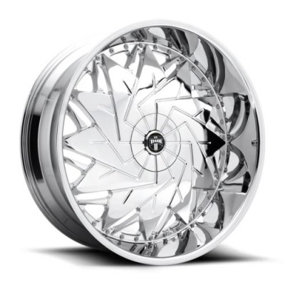 roue DUB S235, chrome (26X9, 5x120.7, 78.1, déport 1)
