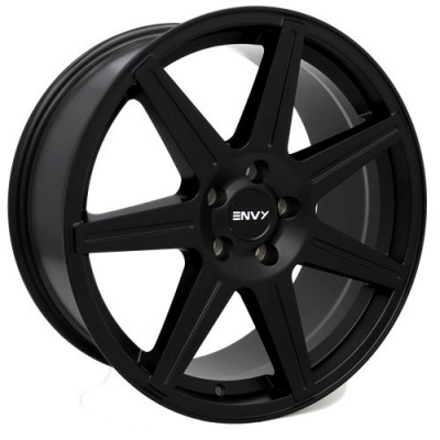 Roue Envy Wheels Elite, noir mat (18X8.0, 5x108, 73.1, déport 40)