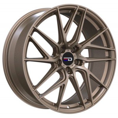 Roue Euro Design Tech, bronze mat (18X8.0, 5x112, 66.7, déport 35)