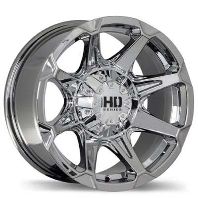 roue Fastwheels Detonator, chrome (16X8, 6x139.7, 108.1, déport 10)