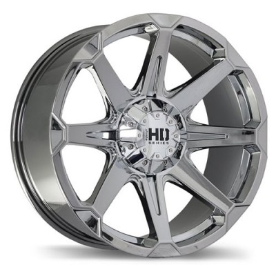 roue Fastwheels Detonator, chrome (17X9, 6x135/139.7, 87.1, déport 25)