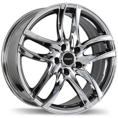 roue Fastwheels Spider, chrome (17X7, 5x114.3, 73, déport 42)