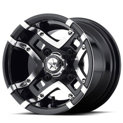 Roue Fairway Alloys FA123 PRESTIGE, noir lustre machine (10X7, 4x101.6, 70.70, déport -25)