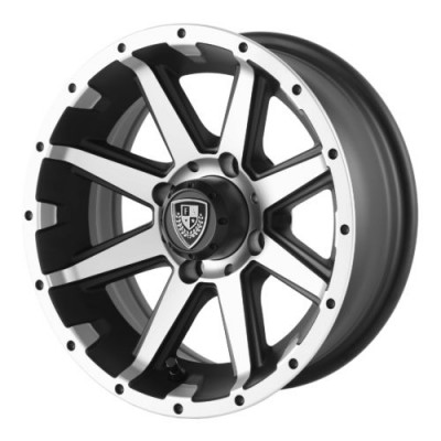 Roue Fairway Alloys FA135 REBEL, noir machine (12X6, 4x101.6, 70.70, déport -23)