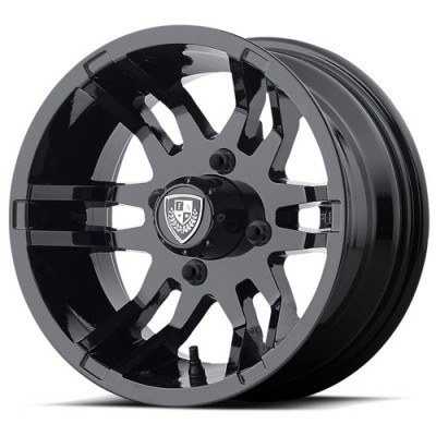 Roue Fairway Alloys FA140 FLEX, noir lustre (14X6.5, 4x101.6, 70.70, déport -20)