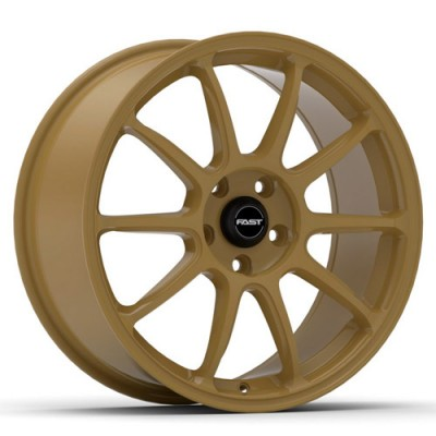 roue Fast Wheels Dime, or (18X8, 5x114.3, 72.6, déport 35)