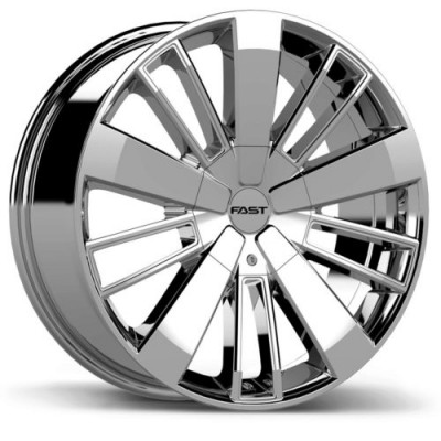 roue Fast Wheels Entourage, chrome (18X8.0, 6x120/132, 78.1, déport 40)