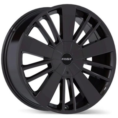Roue Fast Wheels Entourage, gris gunmetal (18X8.0, 6x135/139.7, 106.1, déport 25)