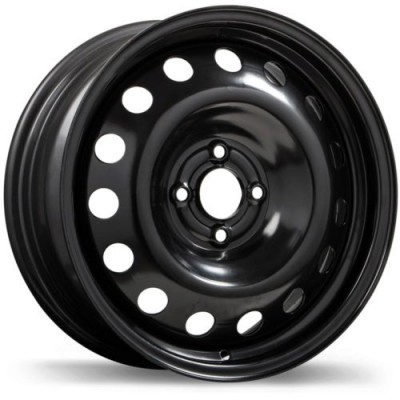 Roue Fast Wheels Steel Wheel, noir (16X6.5, 4x100, 60.1, déport 42)