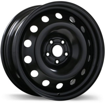 Roue Fast Wheels Steel Wheel, noir (16X6.5, 5x100, 56.1, déport 48)