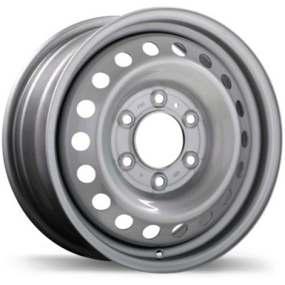 roue Fast Wheels Steel Wheel, argent (16X7.0, 6x139.7, 93.1, déport 55)