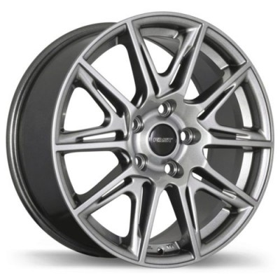 Roue Fast Wheels Switch, titane (19X8.0, 5x114.3, 66.1, déport 35)