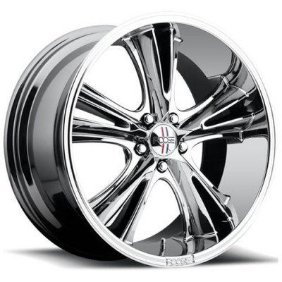 roue FOOSE Knuckle Buster F151, chrome (20X10, 5x114.3, 72.6, déport 45)