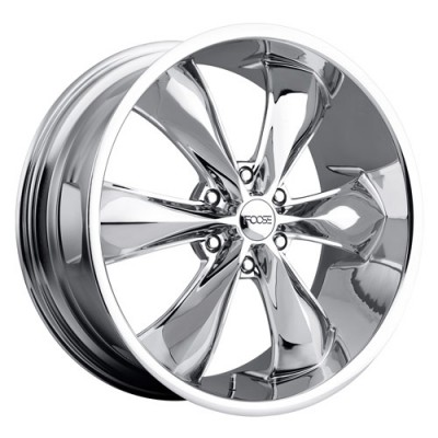 roue FOOSE LEGEND 6 F137, chrome (20X9, 6x139.7, 106.4, déport 25)