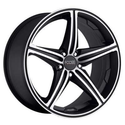 roue FOOSE SPEED F136, noir machine (18X9.5, 5x120, 72.6, déport 18)