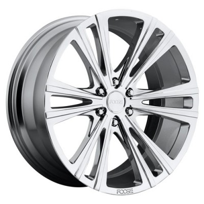 roue FOOSE Wedge F159, chrome (22X9.5, 6x139.7, 78.1, déport 30)