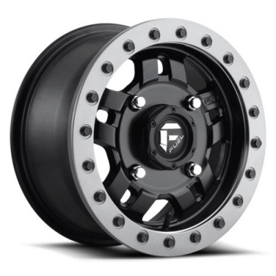 Roue FUEL Anza BL - Off Road Only D917, noir mat (14X7, 4x156, 132, déport 38)