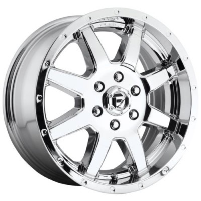 Roue FUEL D536 MAVERICK, chrome (17X6.5, 8x200.00, 142, déport 116)