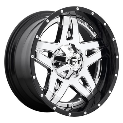 Roue FUEL Full Blown D243, chrome (22X14, 5x139.7/150, 110.3, déport -70)