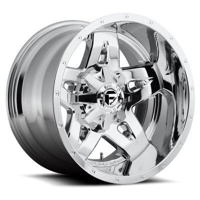Roue FUEL Full Blown D553, chrome (20X12, 8x170, 125.2, déport -44)