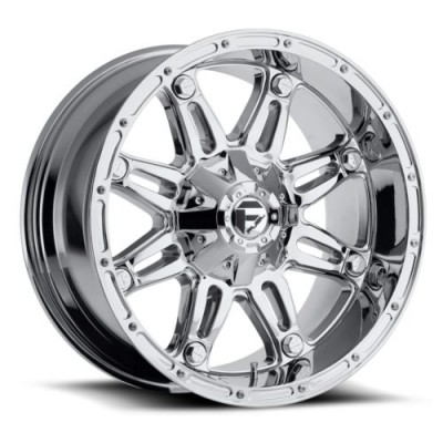 Roue FUEL Hostage D530, chrome (22X11, 5x135/139.7, 87.1, déport -24)