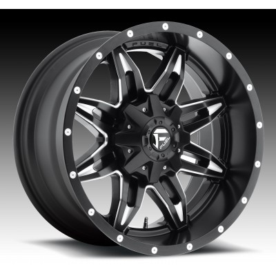 Roue FUEL Lethal D567, noir machine (15X8, 6x139.7, 108, déport -18)