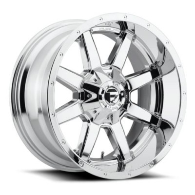 Roue FUEL Maverick D536, chrome (16X6.5, 6x130, 84.1, déport 48)
