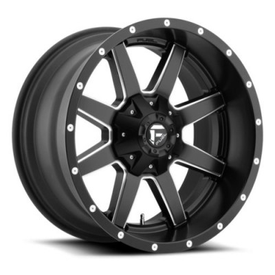 Roue FUEL Maverick D538, noir machine (15X7, 4x115, 79.4, déport 13)