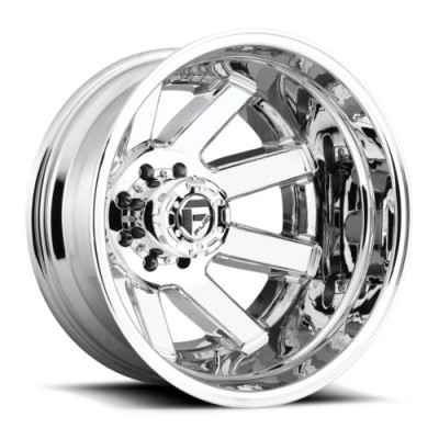 Roue FUEL Maverick Dually Rear D536, chrome (20X8.25, 8x165.1, 121.6, déport -240)