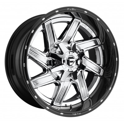 Roue FUEL Moab D241, chrome (22X12, 5x139.7/150, 110.3, déport -44)