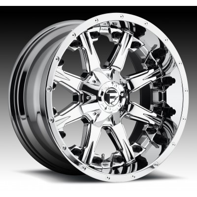 Roue FUEL Nutz D540, chrome (17X9, 8x180, 124.3, déport 1)