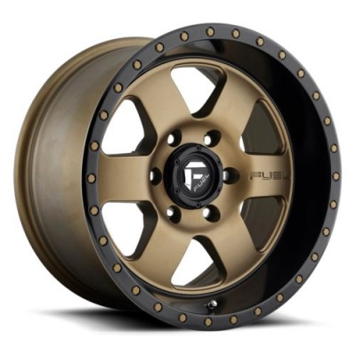 Roue FUEL Podium D617, bronze mat (20X9, 5x127, 78.1, déport 1)